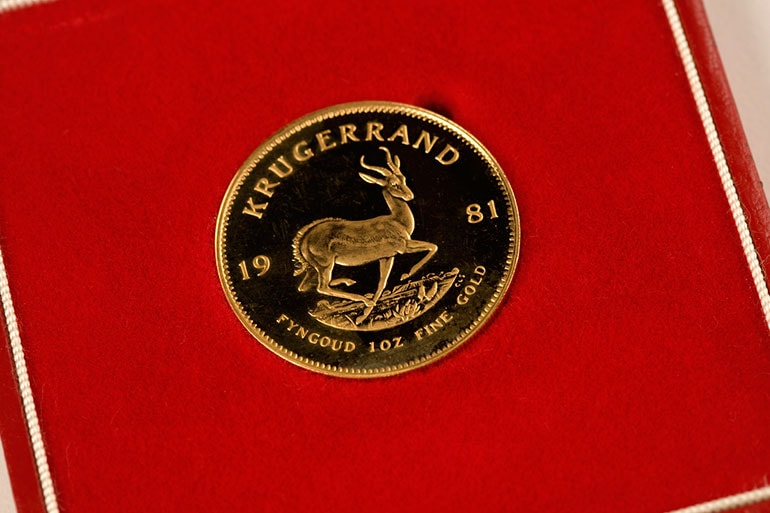 Buy Krugerrands, Buy Gold Krugerrand in the UK